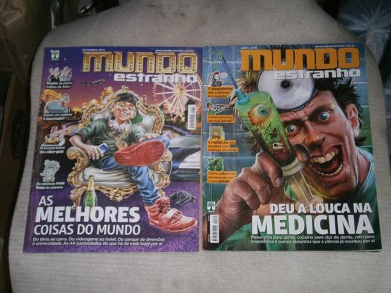 Mundo Estranho - Pacote C/ 6 Revistas R$ 30,00 A Escolher