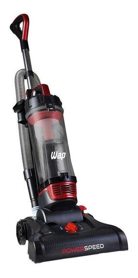 Aspirador Wap Power Speed 3L preto, cinza e vermelho 110V