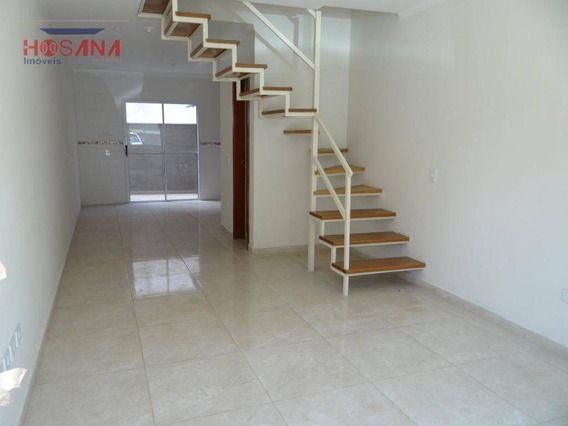 Sobrado Residencial À Venda, Jardim Progresso, Franco Da Rocha. - So0420