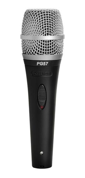 Microfono Pg57-xlr Cardioide Dinamico Para Instrumento Shure