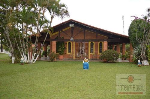 Chácara Com 6 Dormitórios Para Alugar, 4750 M² Por R$ 5.000,00/mês - Residencia Vitassay - Boituva/sp - Ch0483