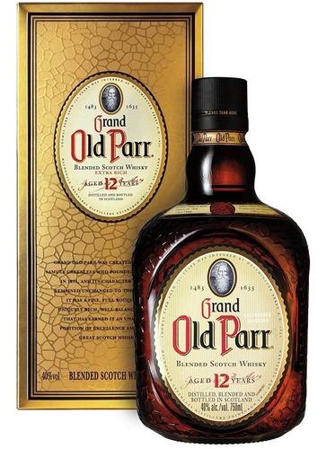 Whisky Old Parr 12 Años (litro) 100% Original