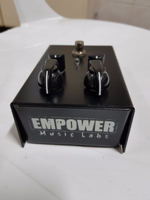 Pedal Empower Music Labs Burn Box Overdrive - Cnservadao!!!