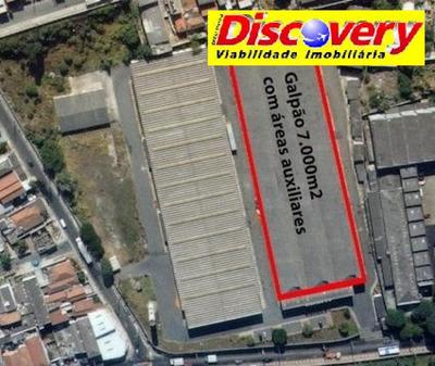 Galpão Industrial Para Locação, Macedo, Guarulhos. - Ga0028