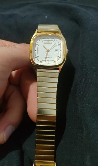 Relógio Citizen A Corda Manual Dourado