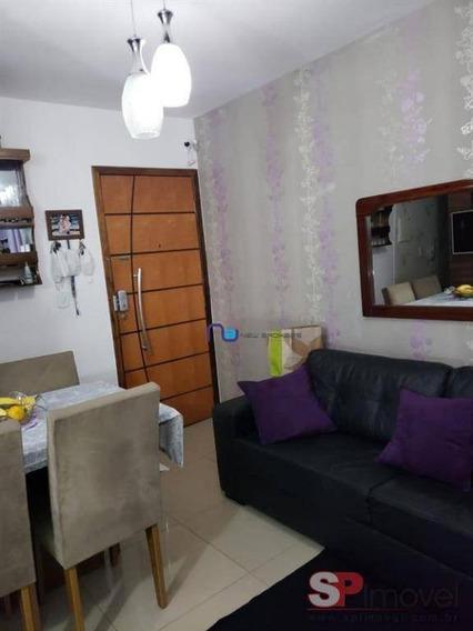 Apartamento Com 2 Dormitórios Para Alugar, 47 M² Por R$ 2.000/mês - Vila Carmosina - São Paulo/sp - Ap4259