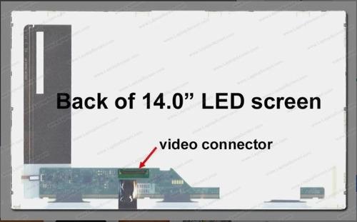Lcd 14 Pulgadas Hd (1366x768) Glossy 40 Pin Led Techcom