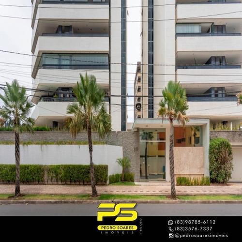 Apartamento Com 4 Dormitórios À Venda, 440 M² Por R$ 1.590.000 - Intermares - Cabedelo/pb - Ap3187