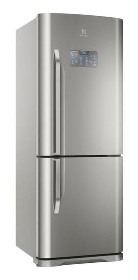 Geladeira / Refrigerador Duplex Frost Free Db53x Electrolux - 454 Litros - Inox - 220v
