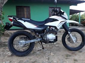 Honda Xr150 Blanca Negro