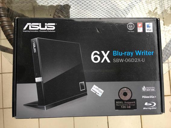 Gravador Blu-ray Externo Asus Sbw-06d2x-u Preto
