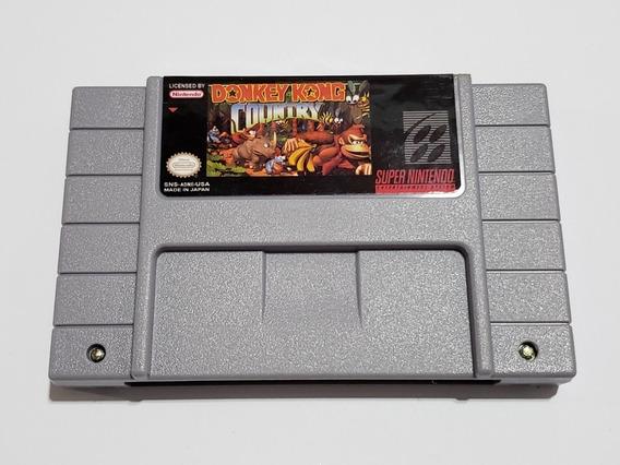 Cartucho Donkey Kong Country Super Nintendo C Bateria Salvar
