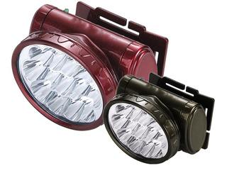 Lanterna Para Cabeça Recarregável C/ 13 Leds - Armadura