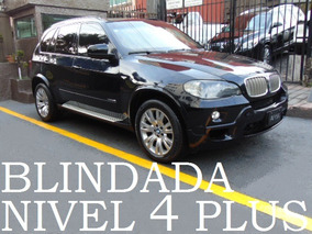 Bmw X5 2010 M Sport Blindada Nivel 4 Plus Blindaje Blindados