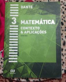 Livro Matemática - Contexto & Aplicações - 3 - Ensino Médio