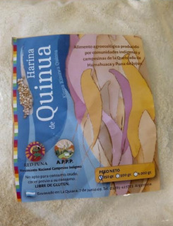 Harina De Quinoa 500 Grs. Red Puna