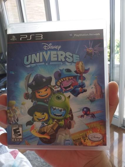 Disney Universe Para Ps3 Mídia Física