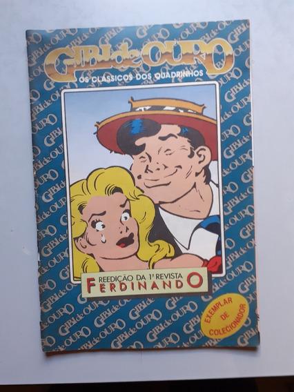 Ferdinando Nº 1! Rge 1961! Reedição! Gibi De Ouro