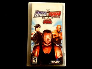 ¡¡¡ Smack Down Vs Raw 2008 Para Psp !!!