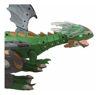 Juguete De Dinosaurio Para Caminar Con Humo De Respirac...