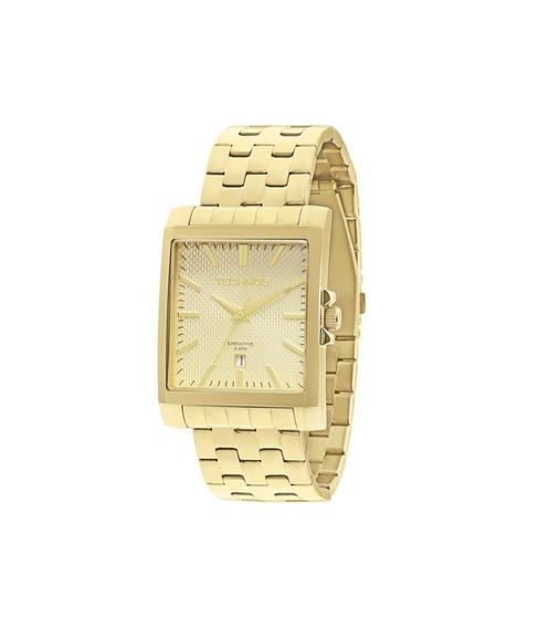 Relógio Technos Masculino Dourado 2115koz4x