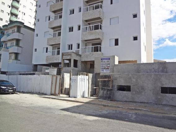 Apartamento Para Venda Em Praia Grande, Ocian, 1 Dormitório, 1 Banheiro, 1 Vaga - Ap00018