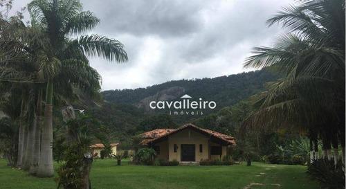 Chácara Com 4 Dormitórios À Venda, 4146 M² - São José Do Imbassaí - Maricá/rj - Ch0067