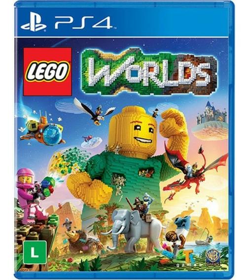 Jogo Lego Worlds Ps4 Playstation 4 Mídia Física Lacrado