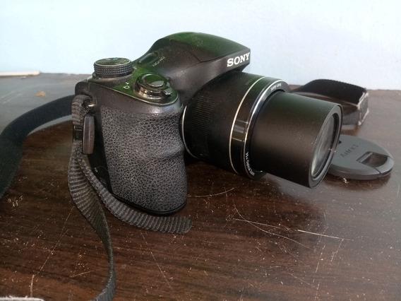 Câmera Semi Profissional Sony Dsc-h300 20.1 Mp Zoom 35x