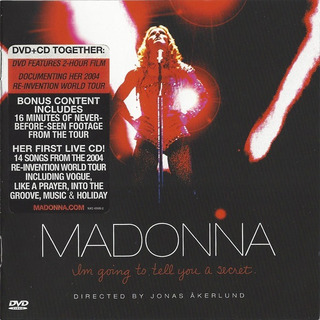 Madonna Im Going To Tell You A Secret Cd + Dvd Nuevo