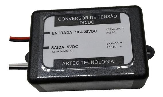 Fonte Entrada 12/24v Saída 5v 1a Sensor,arduino,raspberry