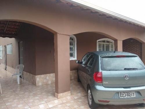 Casa No Litoral Com 03 Quartos Lado Praia Em Itanhaém/sp