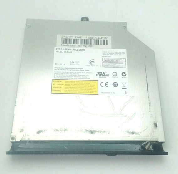 Drive Dvd Cd Rewritable Notebook Cce T746p64+ T23b Ds-8a4s