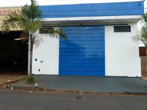 Galpão Para Alugar, 200 M² Por R$ 2.500/mês - Parque Anhangüera - Ribeirão Preto/sp - Ga0106
