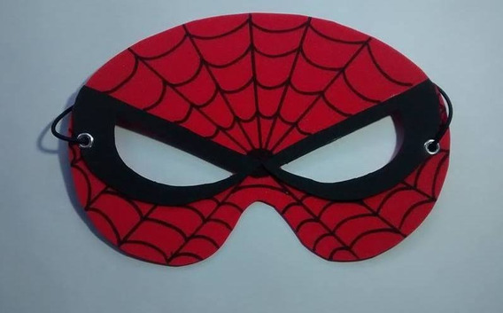 20 Antifaces Hombre Araña Superheroes -antifaz+regalo