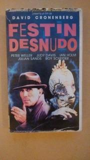 El Festin Desnudo. Vhs. Cronenberg. Original