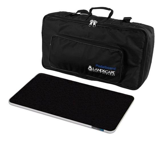 Soft Bag C Base Fixação P Pedais 60x30 Cm Pedal Board Sb300