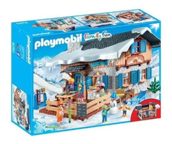 Playmobil - Cabaña De Esquí