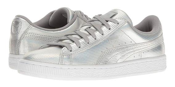 Zapatos Damas Puma Plateados - Talla 40