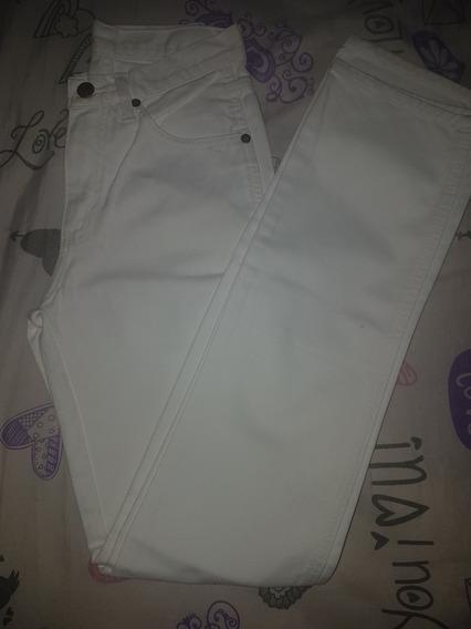 Calça Jeans Wrangler Branca Sem Lycra Tamanho 34