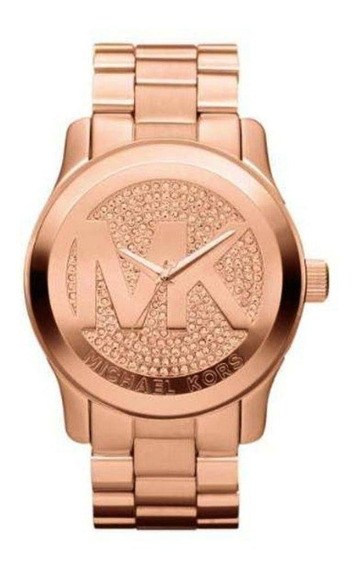 Relógio Feminino Michael Kors Runway Rose Mk5661