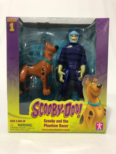 Bonecos Scooby & Phanton Racer Lacrado - Coleção Scooby-doo