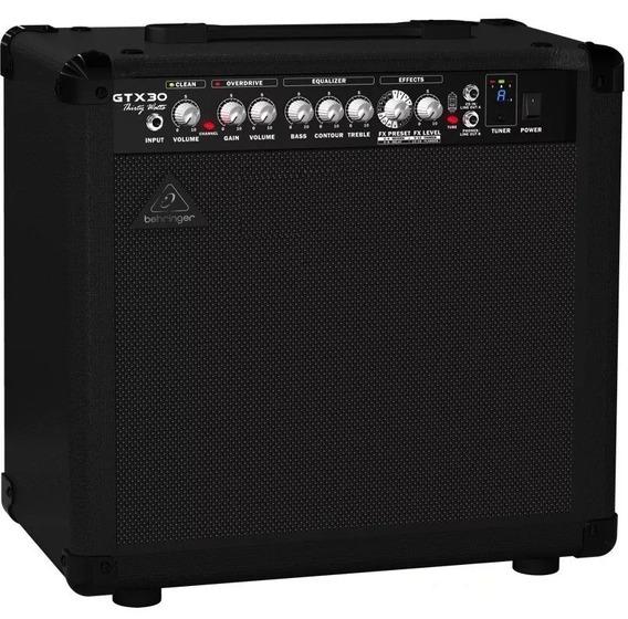 Amplificador De Guitarra Behringer Gtx30 30w 2 Canales Cuota