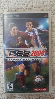 Pes 2009 Pro Evolution Soccer 2009 Playstation Portable Psp