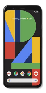 Google Pixel 4 Dual SIM 64 GB Just black 6 GB RAM