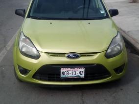Ford Fiesta Ikon 2012 Verde 5 Puertas