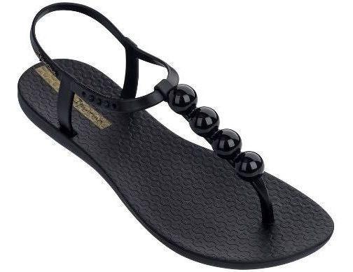 Sandália Chinelo Ipanema Class Glam Preto/preto