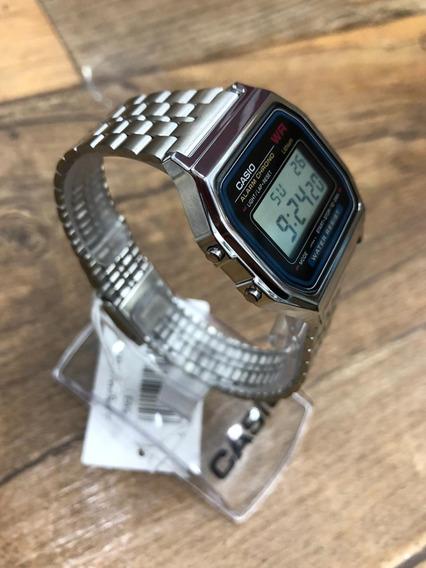 Relógio Casio Vintage Prata A159wad-1df