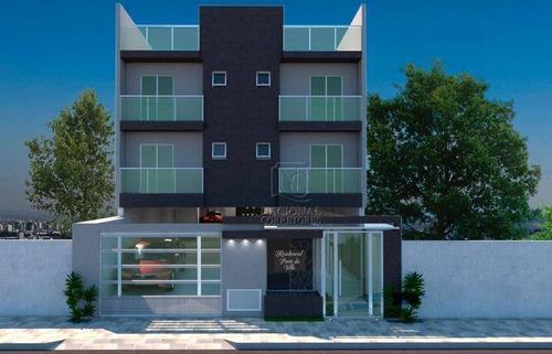 Cobertura Com 2 Dormitórios À Venda, 98 M² Por R$ 339.000,00 - Silveira - Santo André/sp - Co4676