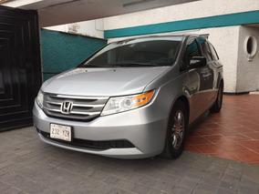 Honda Odyssey 3.5 Exl Minivan Piel Dvd At
